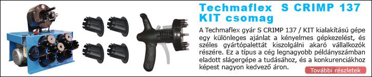 Techmaflex S SRIMP 137 KIT tömlőprés egyedi ajánlat